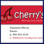cherry's moving and hauling